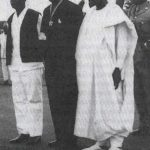 KENNETH KAUNDA with Kwame Nkrumah and Sekou Toure in Conakry, Guinea in 1969.